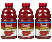 CAMPBELLS JUGO DE TOMATE NATURAL 946ML PACK 3 UNID